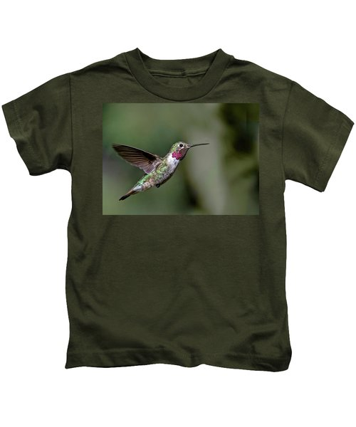 Broad-tailed Hummingbird Male Kids T-Shirt