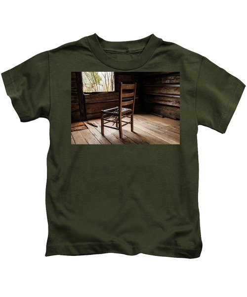 Broken Chair Kids T-Shirt