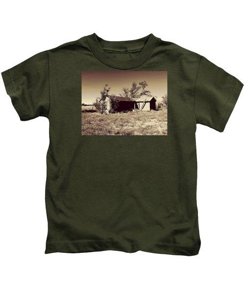 Broken Homestead Kids T-Shirt