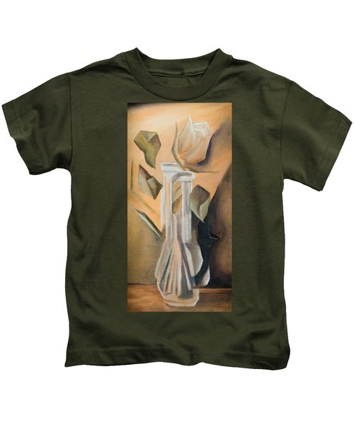 Broken Rose Kids T-Shirt