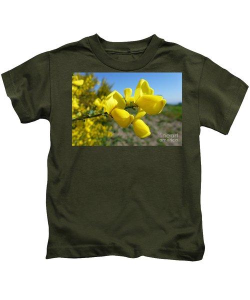 Broom In Bloom 4 Kids T-Shirt