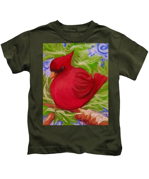 Brrr Bird Kids T-Shirt