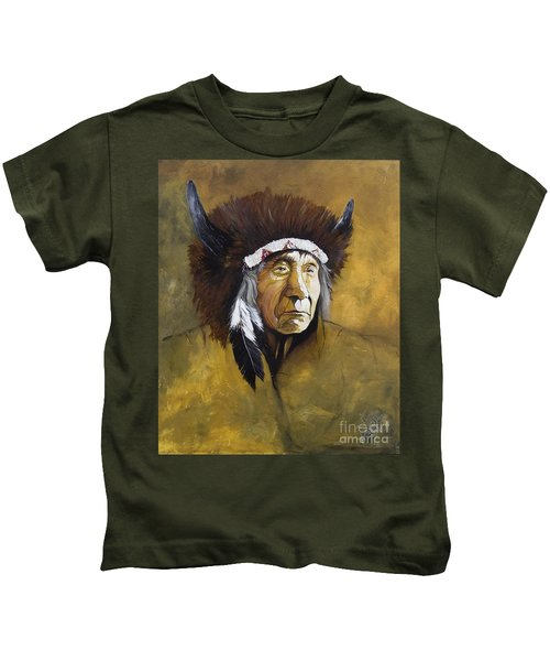 Buffalo Shaman Kids T-Shirt