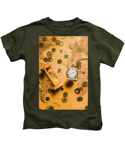 Building The Wayback Machine Kids T-Shirt