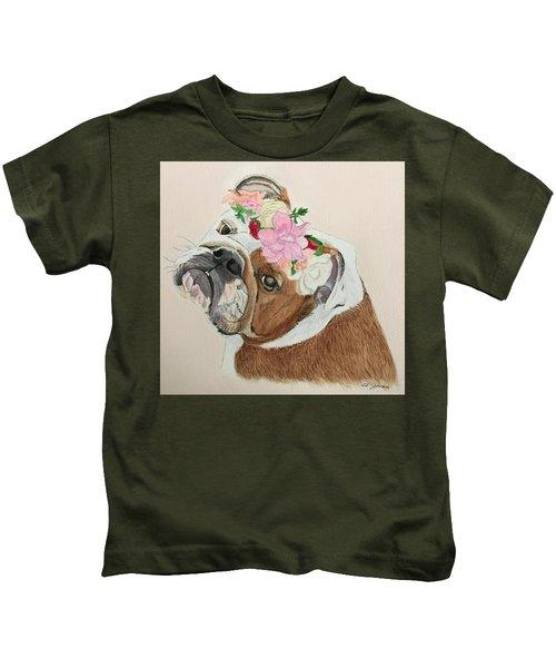 Bulldog Bridesmaid Kids T-Shirt