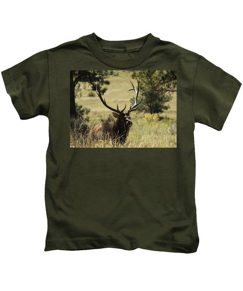 Bullelk1 Kids T-Shirt