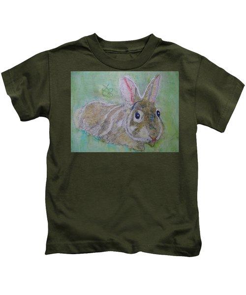 bunny named Rocket Kids T-Shirt