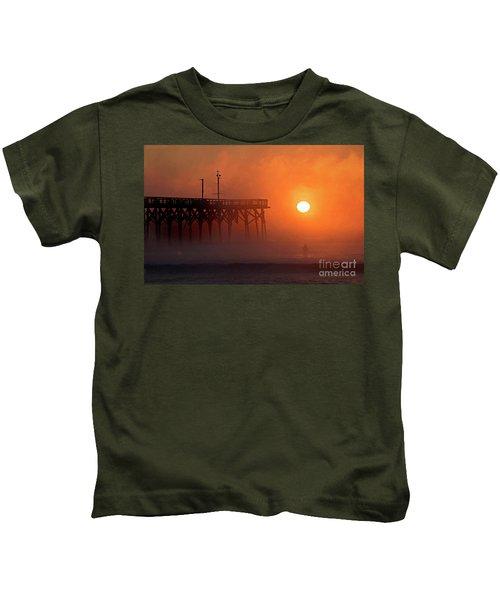 Burning Through Kids T-Shirt