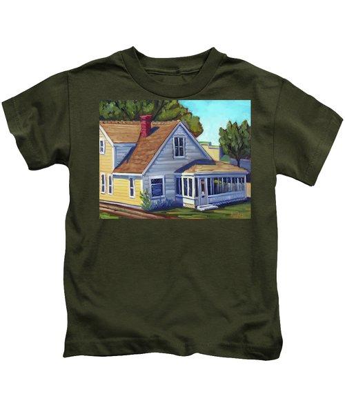Bushnell House - Eagle Idaho Kids T-Shirt