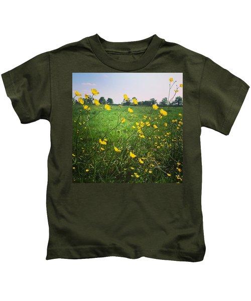 Buttercups Meadow Kids T-Shirt
