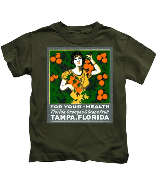 C.1920 Tampa For Your Health Kids T-Shirt
