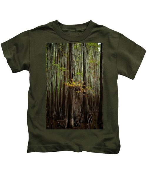 Caddo Lake #5 Kids T-Shirt