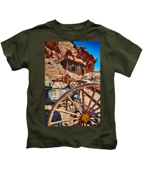 Calico Ghost Town Mine Kids T-Shirt