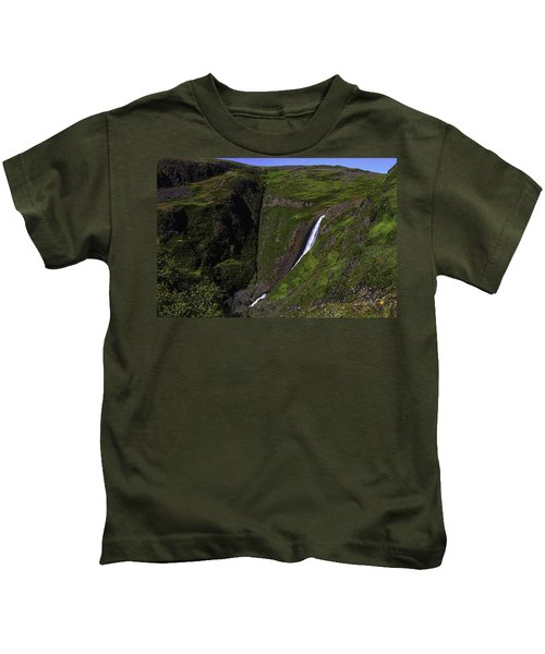 California Spring Falls Kids T-Shirt