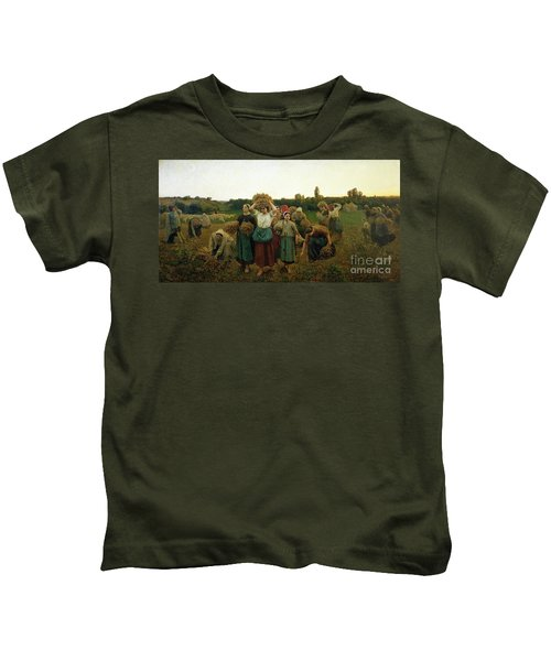 Calling In The Gleaners Kids T-Shirt