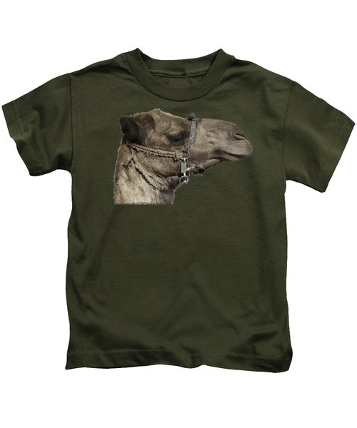 Camel's Head Kids T-Shirt by Roy Pedersen