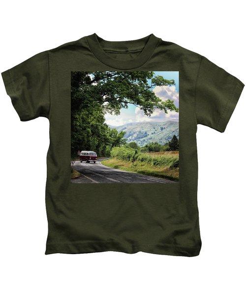 Camper Travels Kids T-Shirt