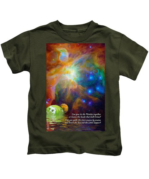 Can You Tie The Pliades Together? Kids T-Shirt
