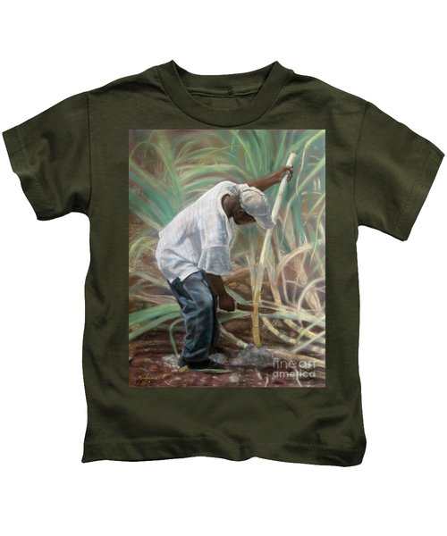 Cane Field Kids T-Shirt
