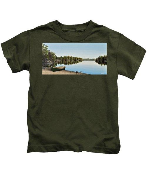 Canoe The Massassauga Kids T-Shirt