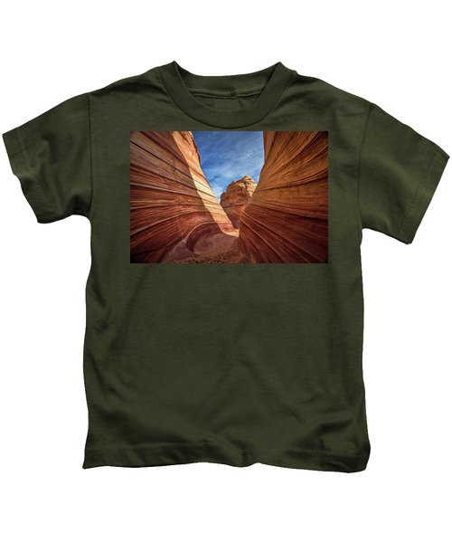 Canyon Atthe Wave Kids T-Shirt
