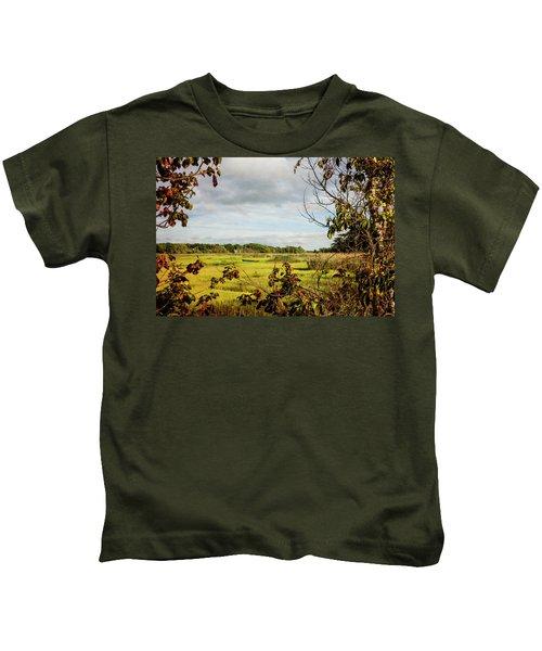 Cape Cod Marsh 3 Kids T-Shirt