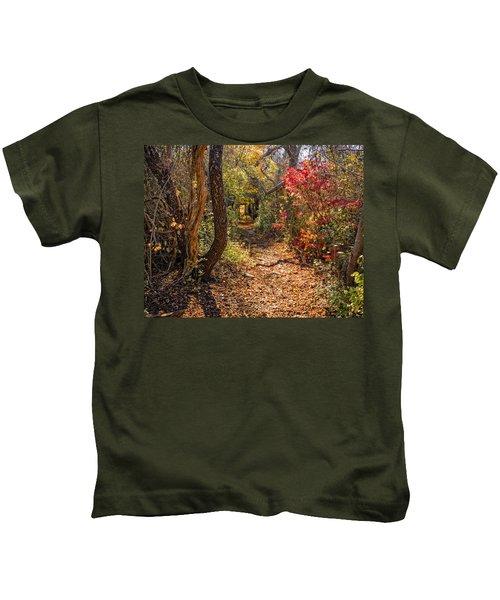 Cape Cod Path Kids T-Shirt