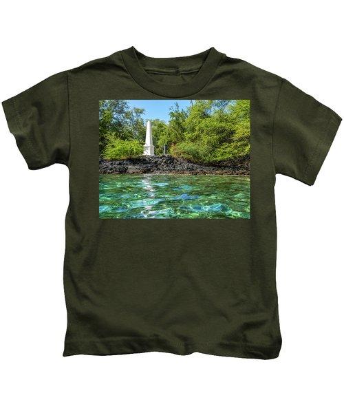 Captain Cook Monument Kids T-Shirt