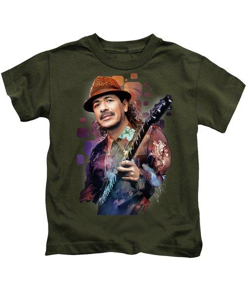 Carlos Santana Kids T-Shirt