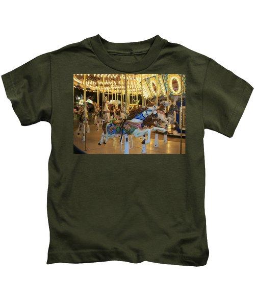 Carousel Horse 3 Kids T-Shirt