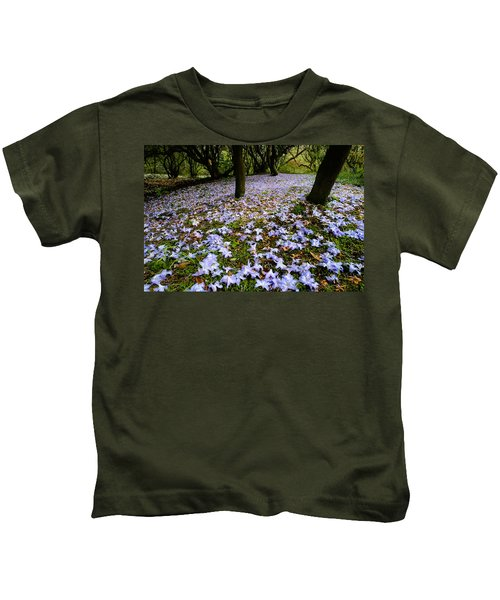 Carpet Of Petals Kids T-Shirt