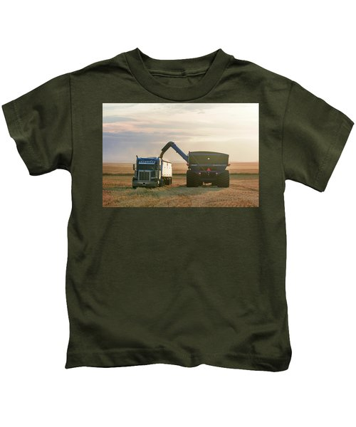 Cart Into Truck Kids T-Shirt