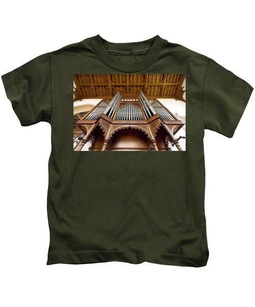 Castle Ashby Pipe Organ Kids T-Shirt