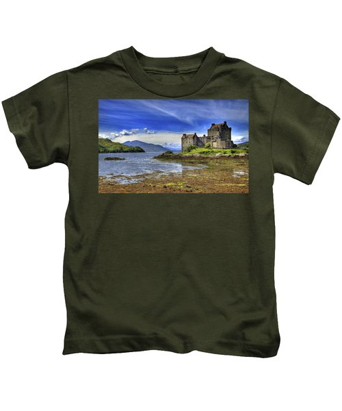 Castle Eilean Donan Kids T-Shirt