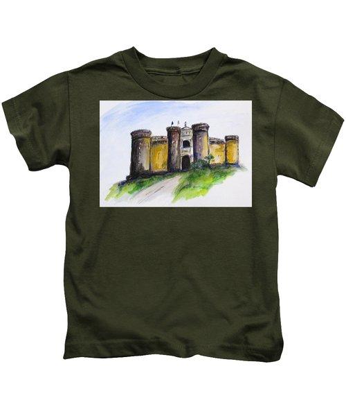 Castle Nuovo, Napoli Kids T-Shirt