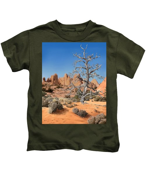Caught In Your Dying Arms Kids T-Shirt