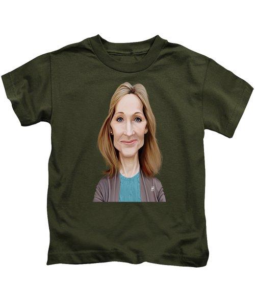 Celebrity Sunday - J.k.rowling Kids T-Shirt