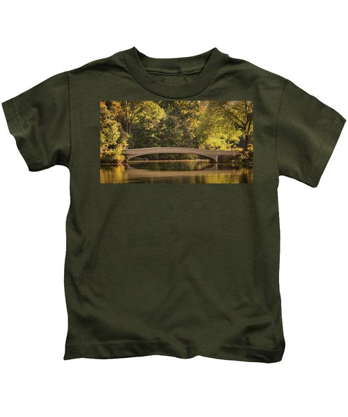 Central Park Bridge Kids T-Shirt