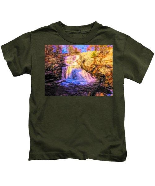 Chapman Falls Connecticut Kids T-Shirt