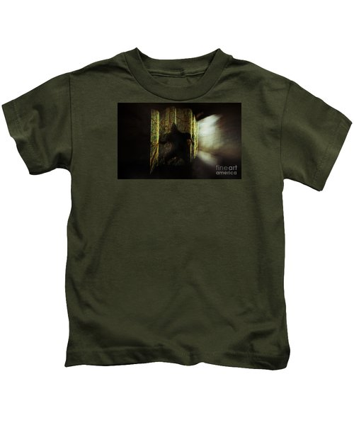 Chasing Shadows Kids T-Shirt