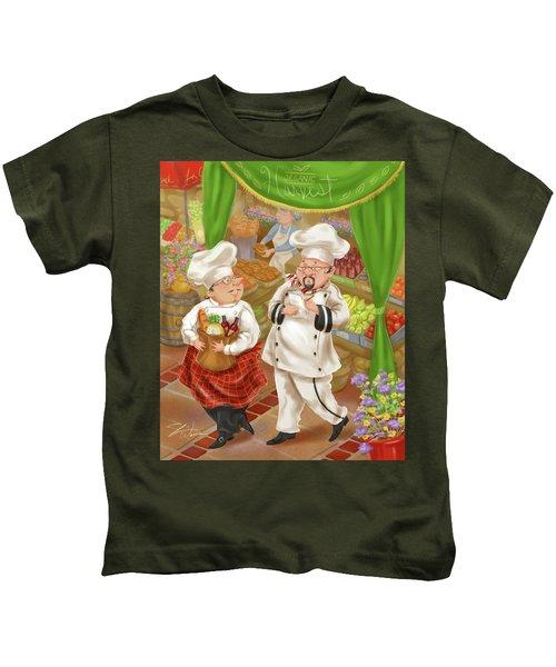 Chefs Go To Market IIi Kids T-Shirt