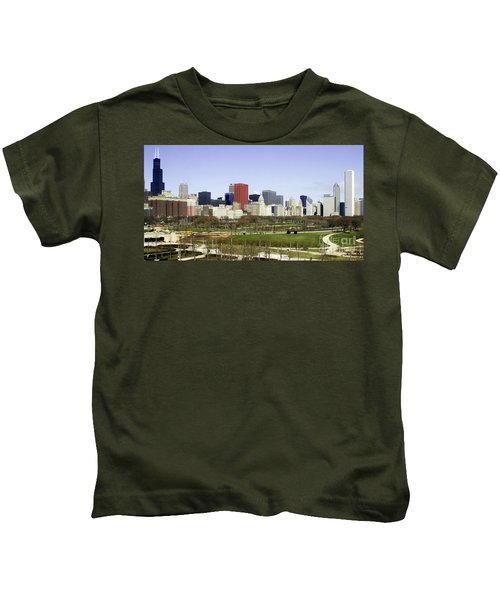 Chicago- The Windy City Kids T-Shirt