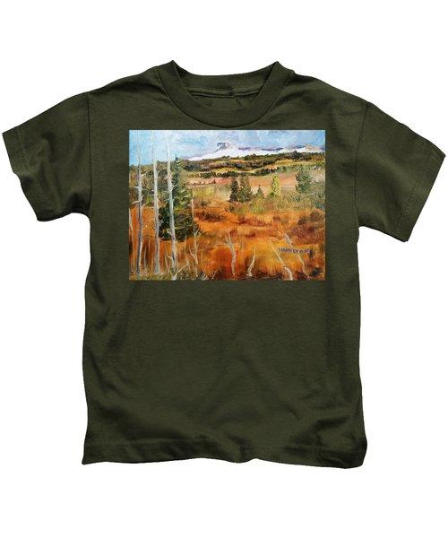 Chief Mountain Kids T-Shirt