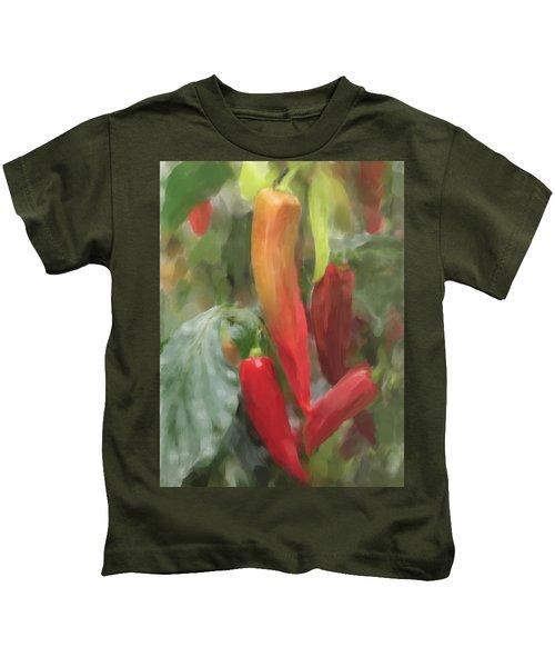 Chili Peppers Kids T-Shirt