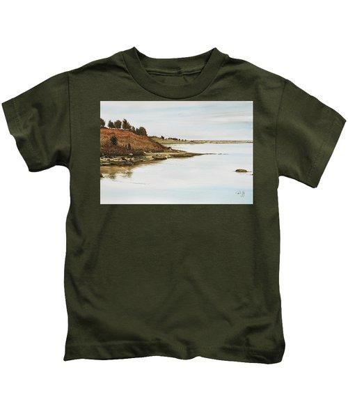 Chilmark Mv Stonewall Pond Kids T-Shirt