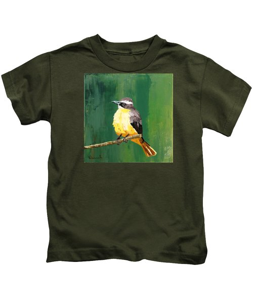 Chirping Charlie Kids T-Shirt