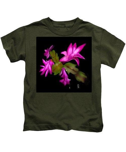 Christmas Cactus Kids T-Shirt