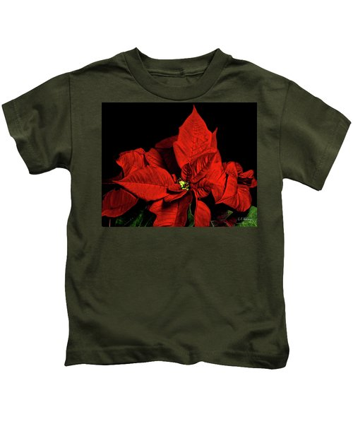 Christmas Fire Kids T-Shirt