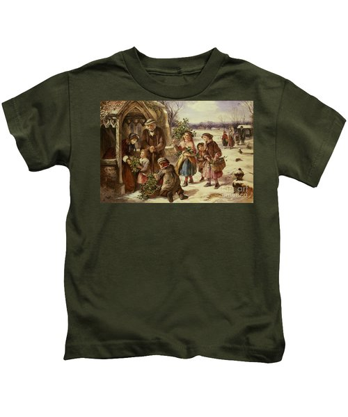Christmas Morning Kids T-Shirt