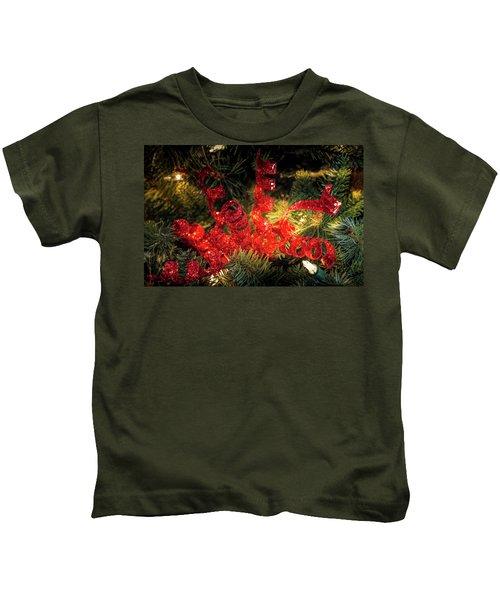 Christmas Red Kids T-Shirt